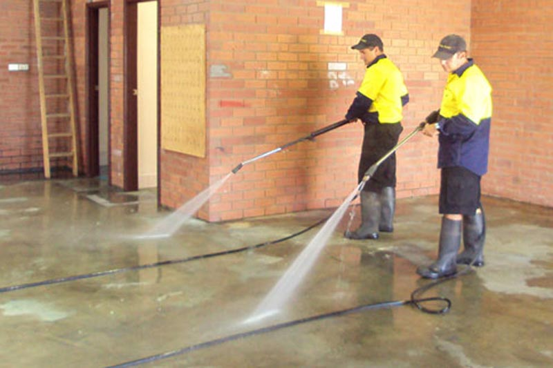cleaning concrete perth