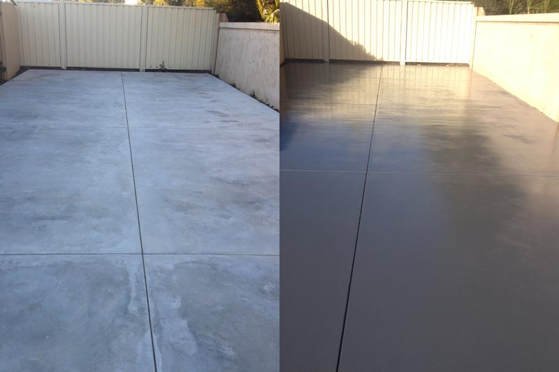 Concrete Floor Coloured Sealers Perth